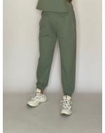 Tepláky pastelovo zelené 111/1D